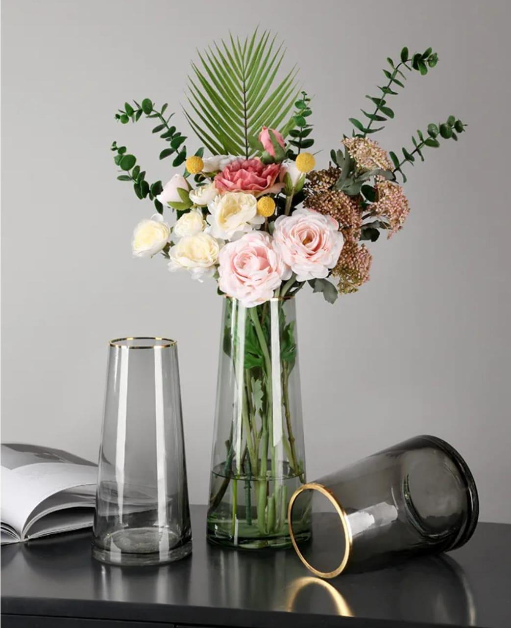 сохранить букет роз в вазе